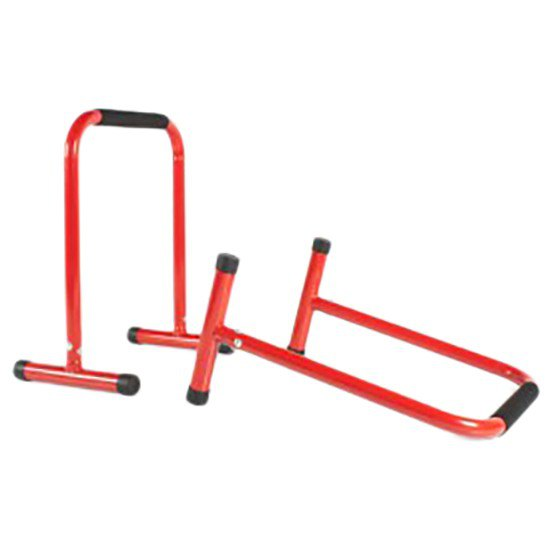 Olive Functional Hurdle Pair Red