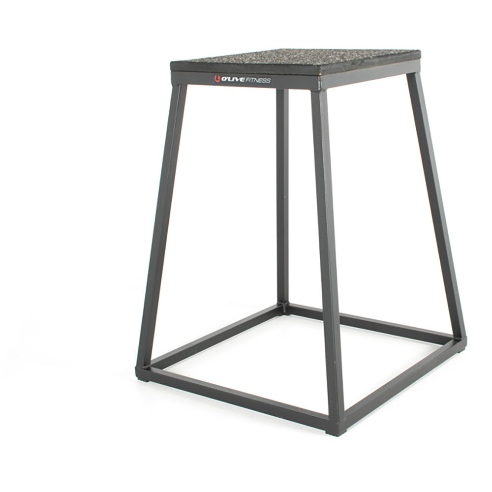 Olive Plyometric Platforms 30 cm Grey