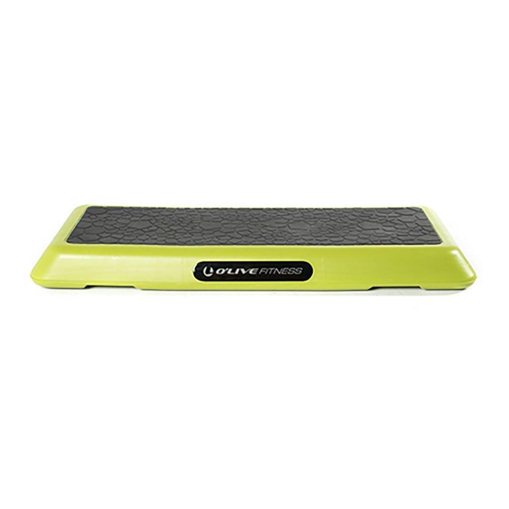 Olive Elite Professional Step Platform 109x40x10 cm Green Fluo