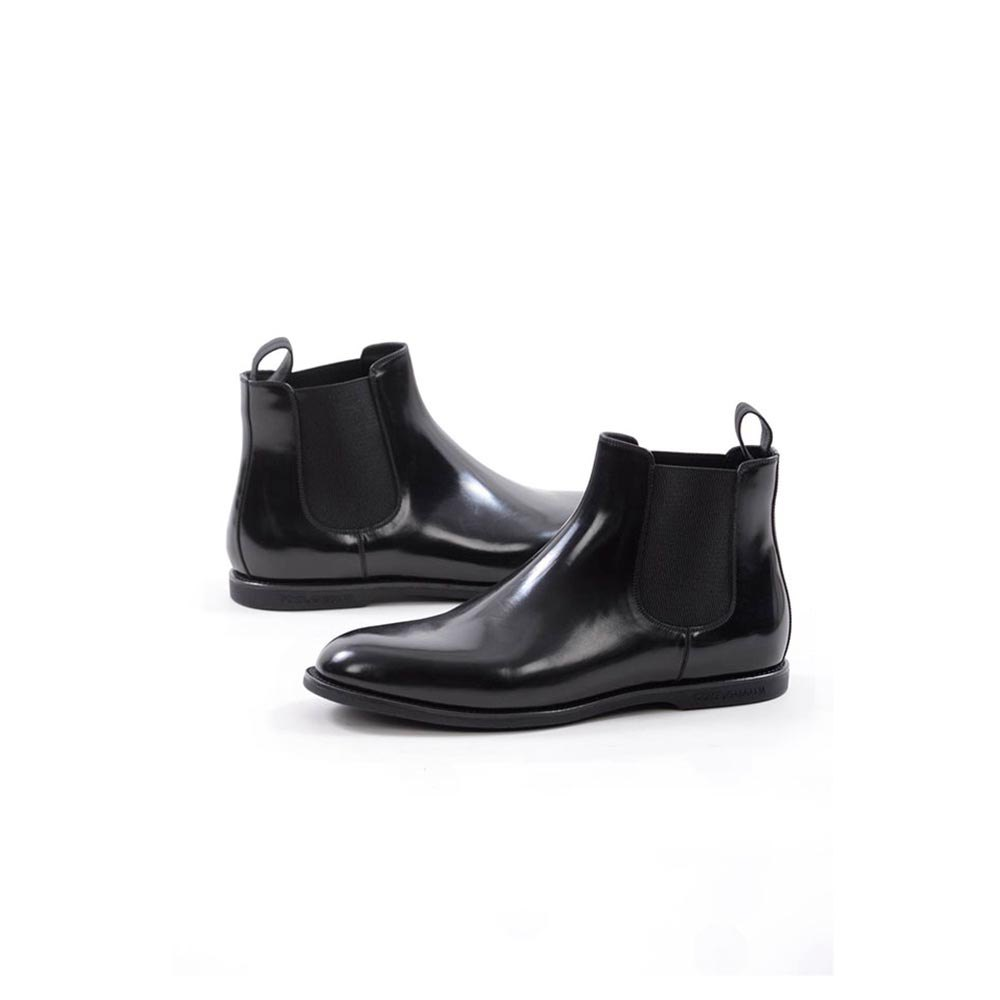 Dolce & Gabbana 728088/ Ankle Boots EU 45 Black
