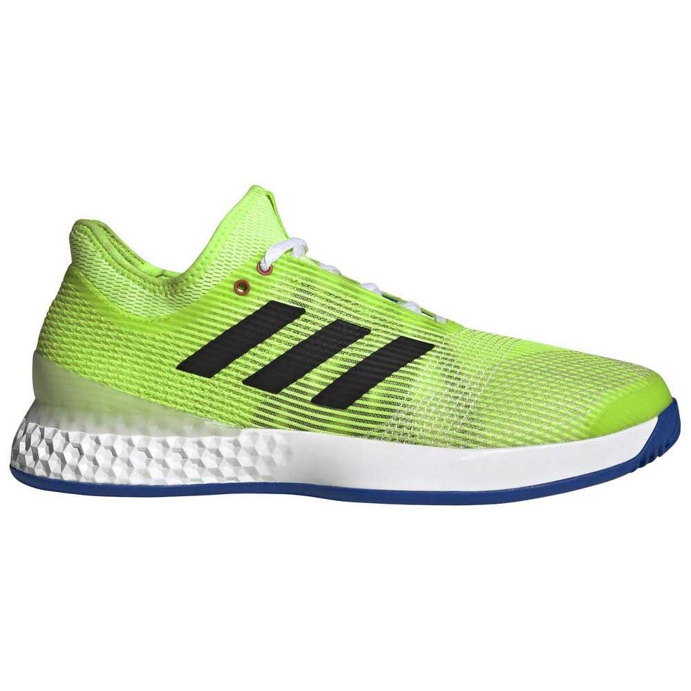 Adidas Adizero Ubersonic 3 EU 46 Signal Green / Core Black / Azuglo