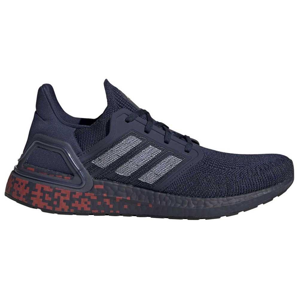 Adidas Ultraboost 20 EU 46 Maruni / Ftw Black / Dormet