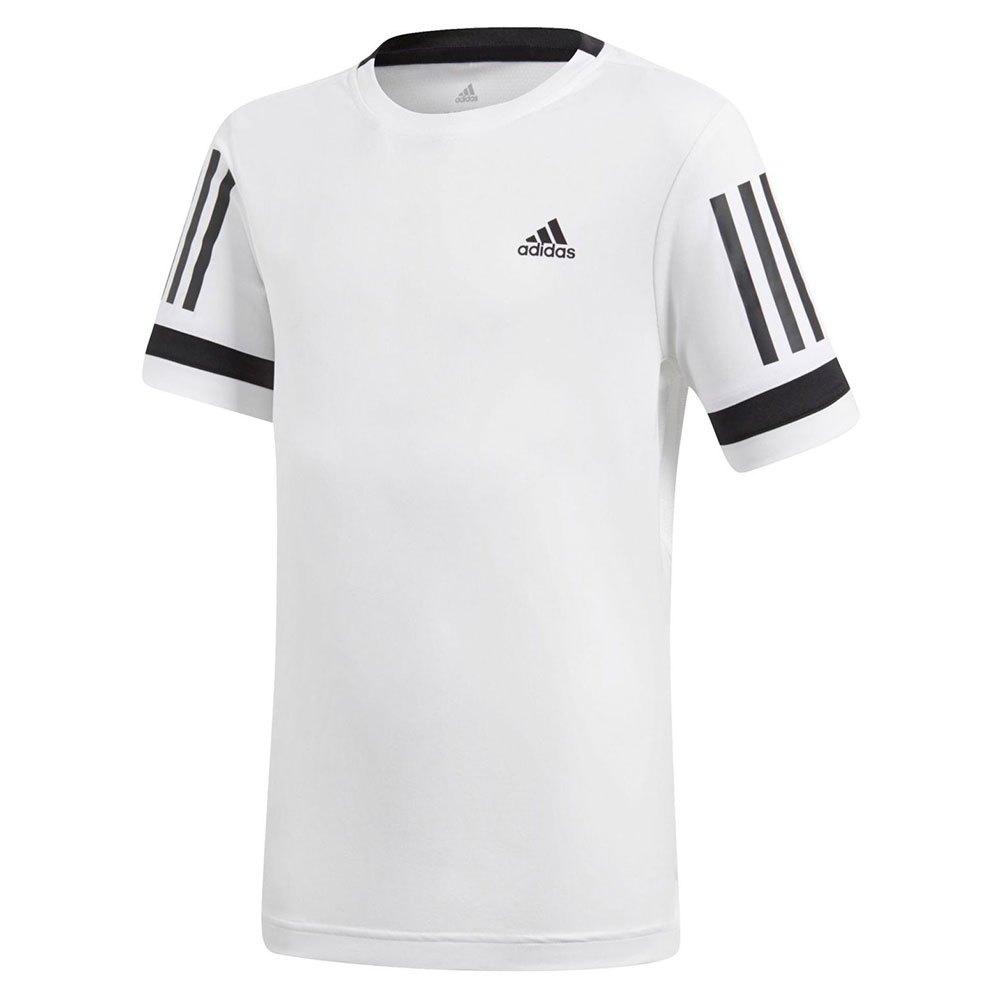 Adidas Club 3 Stripes 164 cm White