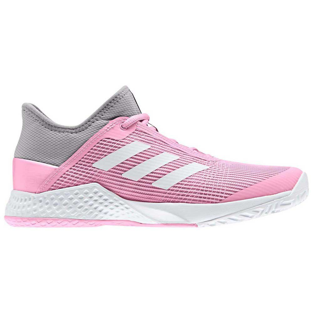 Adidas Adizero Club EU 39 1/3 Light Granite / Ftwr White / True Pink