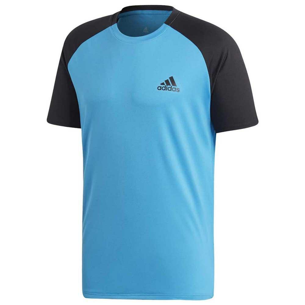Adidas Club Colourblock S Shock Cyan / Black