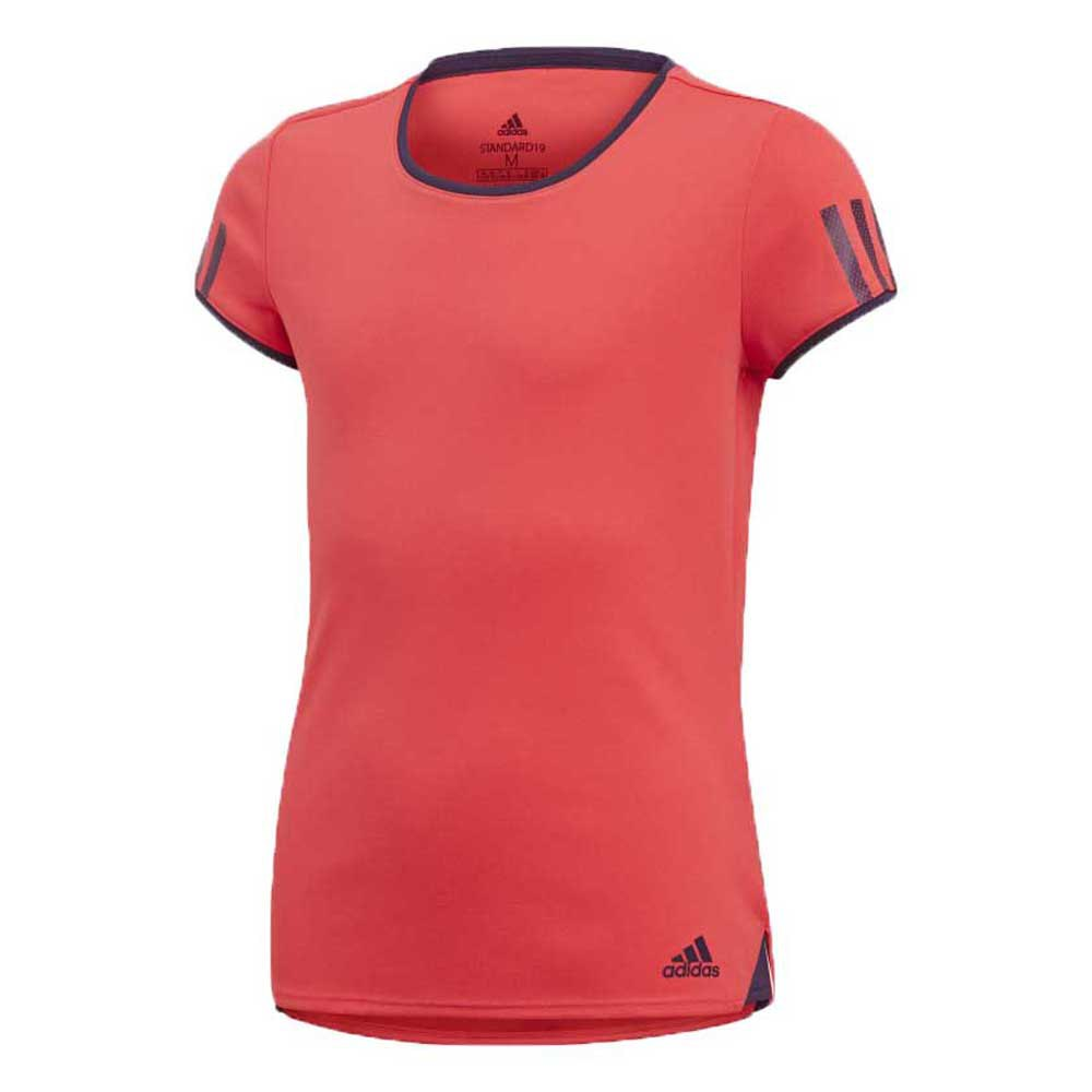 Adidas T-shirt Manche Courte Club 170 cm Shock Red / Legend Purple