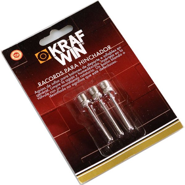 Krafwin Racords For Inflator 3 Units One Size Silver