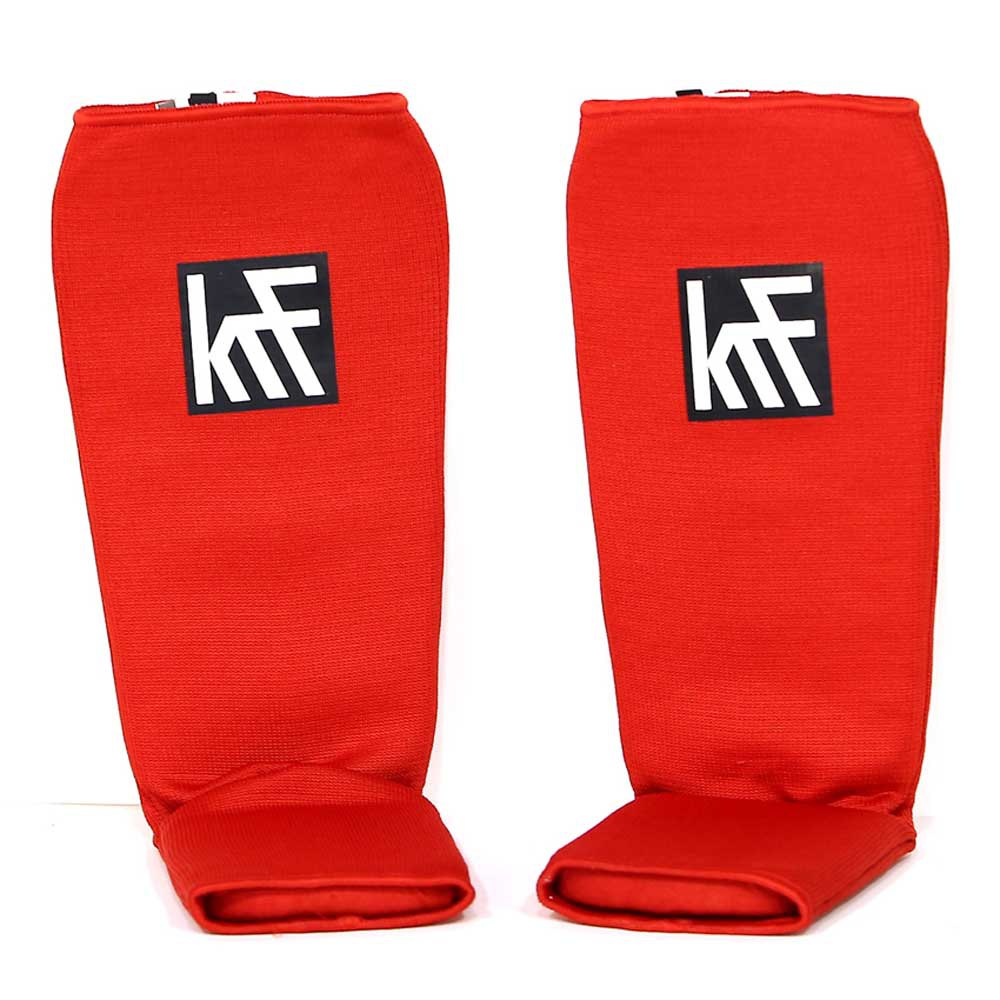 Krf Shin Guard L-XL Red