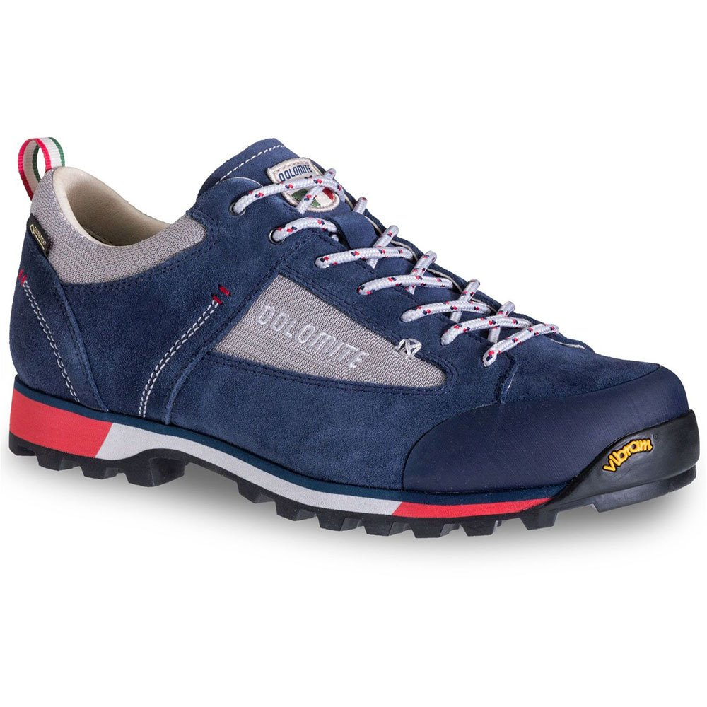 Dolomite Cinquantaquattro Hike Low Goretex EU 45 Blue / Red
