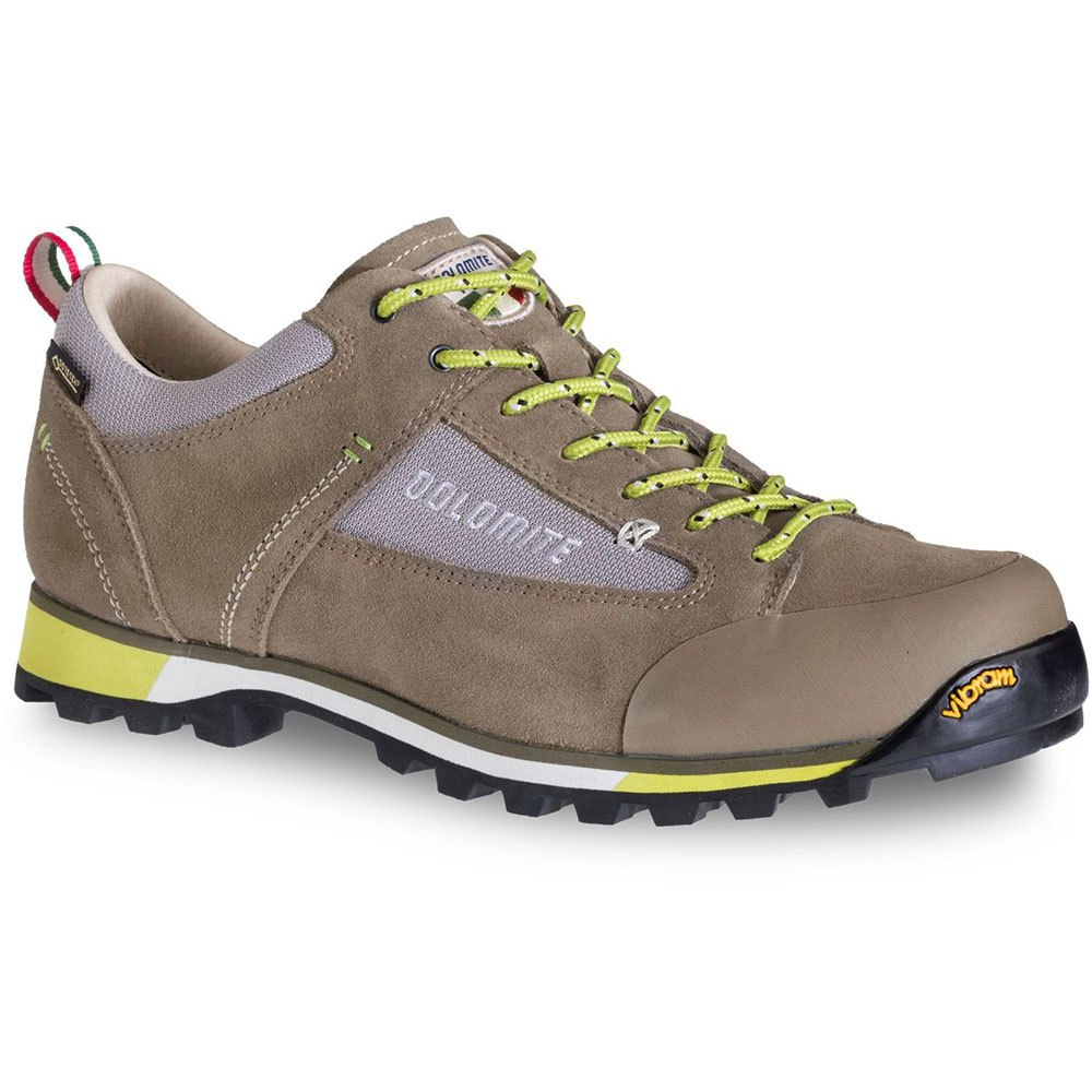 Dolomite Cinquantaquattro Hike Low Goretex EU 41 1/2 Mud Brown/ Green