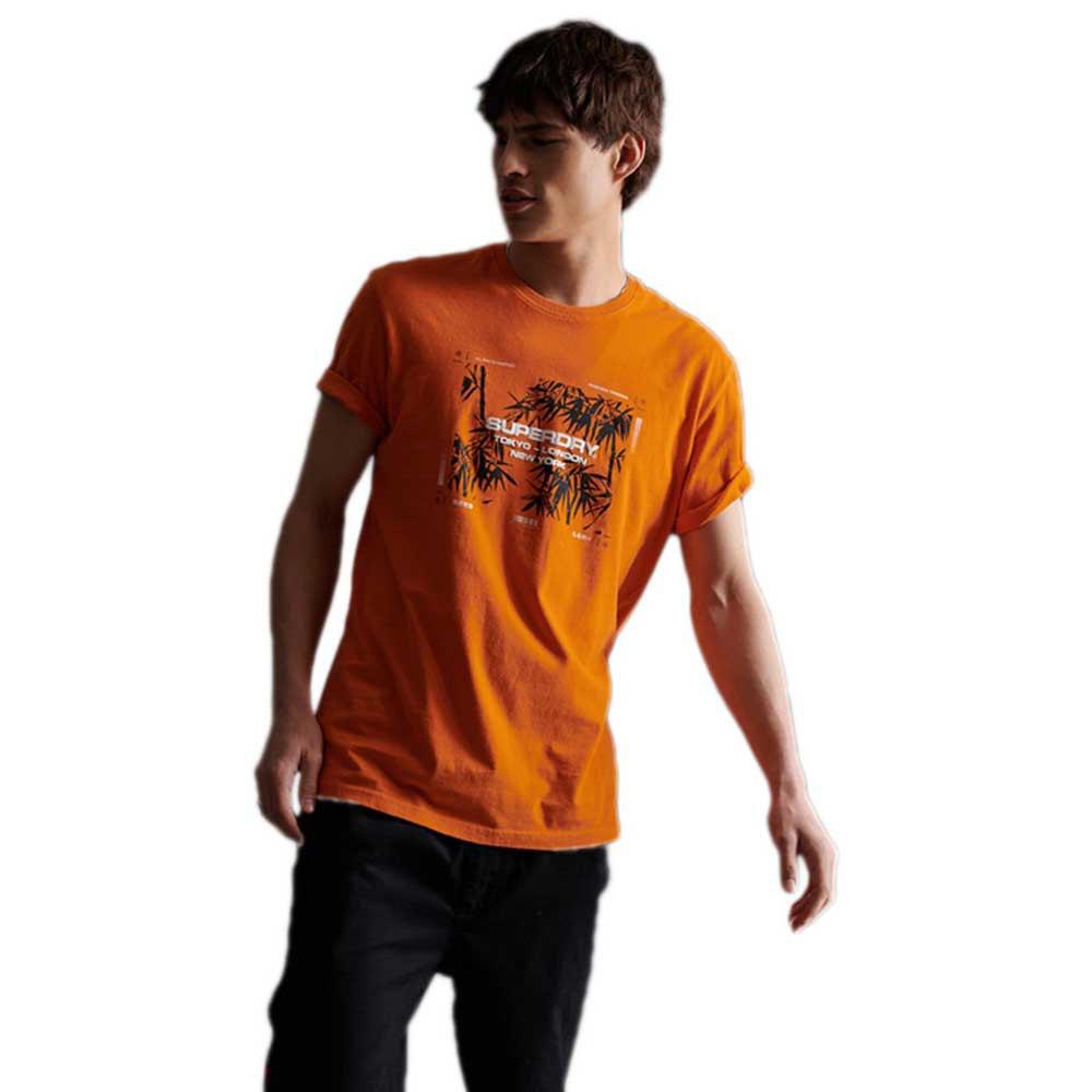 Superdry City Code L Pale Tangerine