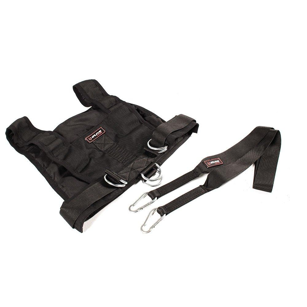 Olive Sled Harness One Size Black