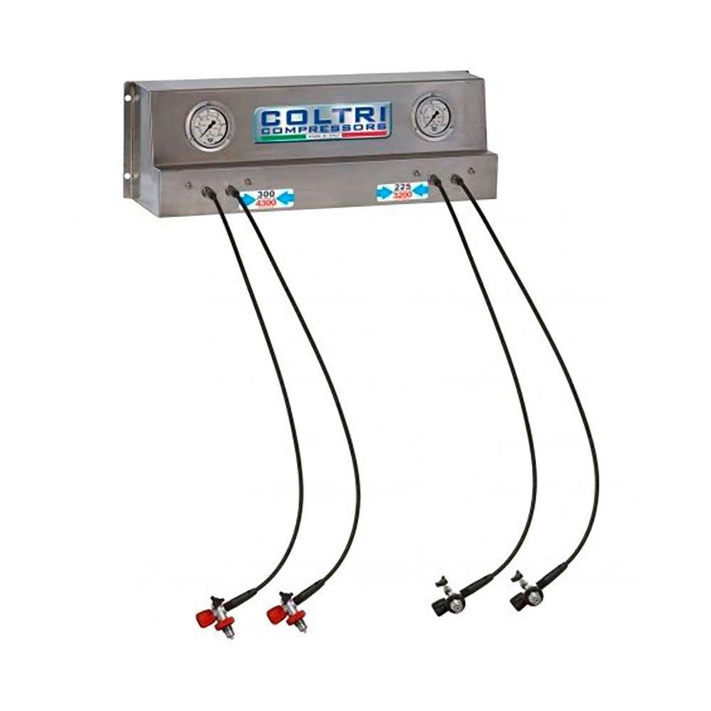 Coltri Füllplatte Doppeldruck 232/300 Bar Steel KOMPRESSOREN Füllplatte Doppeldruck 232/300 Bar