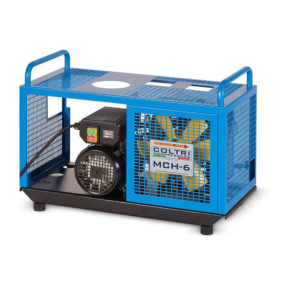Coltri Compact Mch 6 Em Einphasen-kompressor 230v Blue Black KOMPRESSOREN Compact Mch 6 Em Einphasen-kompressor 230v