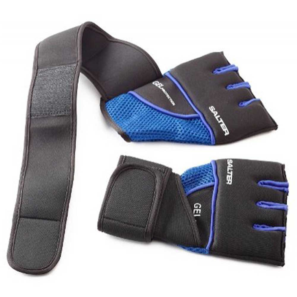 Salter Boxing Mitts XL Black / Blue