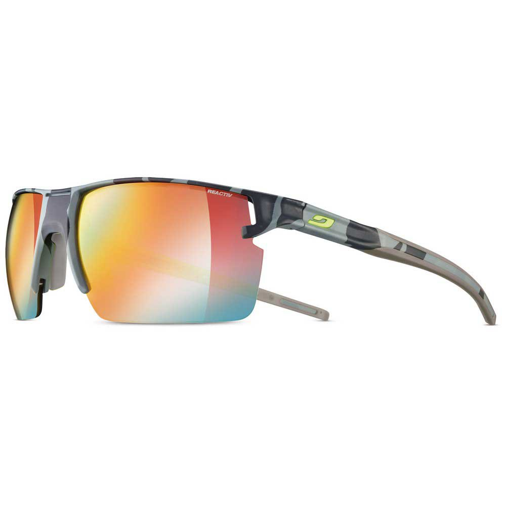 Julbo Outline Yellow/Brown Multilayer Red/CAT1-3 Grey Camo / Yellow