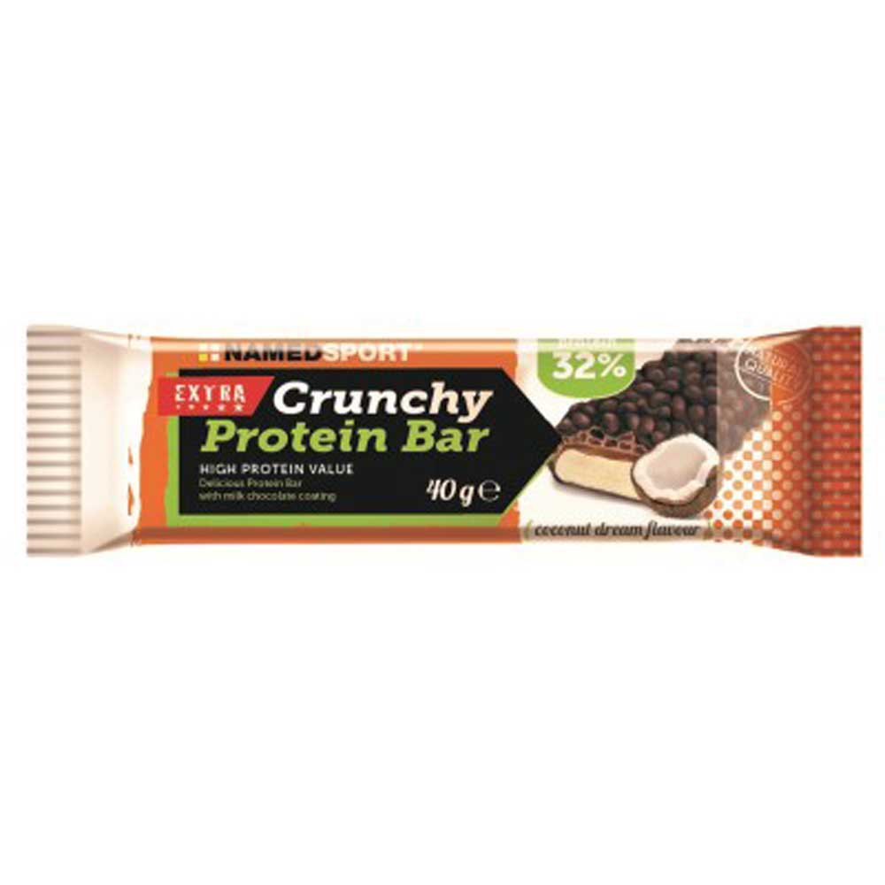 Named Sport Crunchy Protein 40gr X 24 Bars Coconut Coconut
