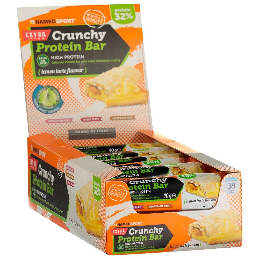 Named Sport Crunchy Protein 40gr X 24 Bars Lemon Tarte Lemon Tarte