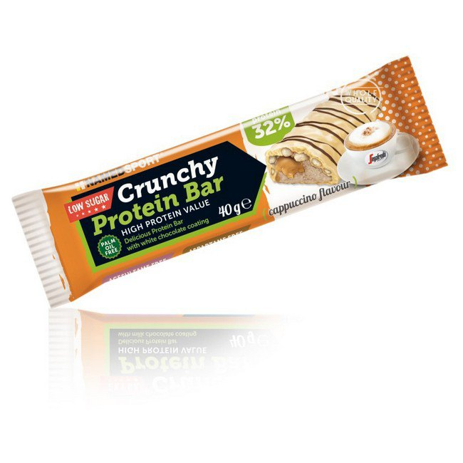Named Sport Crunchy Protein 40gr X 24 Bars Capuccino Cappuccino