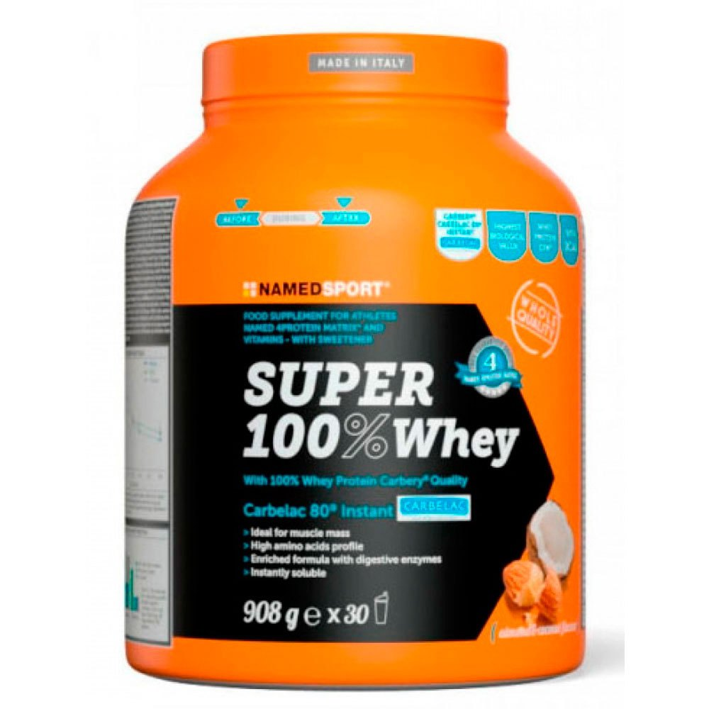 Named Sport Super 100% Whey 908gr Coconut Coconut