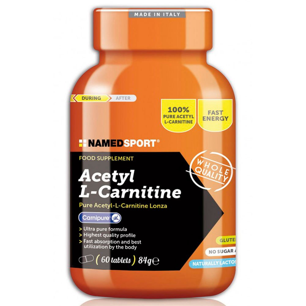 Named Sport Acetyl L-carnitine 60 Caps Neutral Neutral
