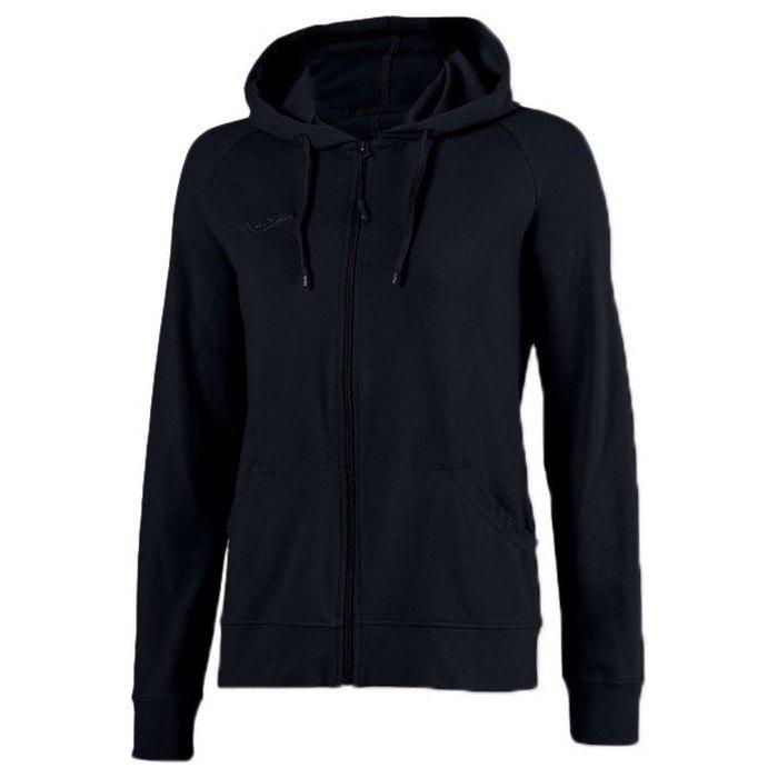 Joma Corinto Full Zip Sweatshirt XXL Black