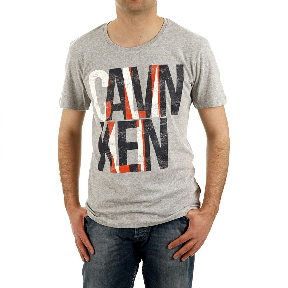 Calvin Klein T-shirt L Light Grey