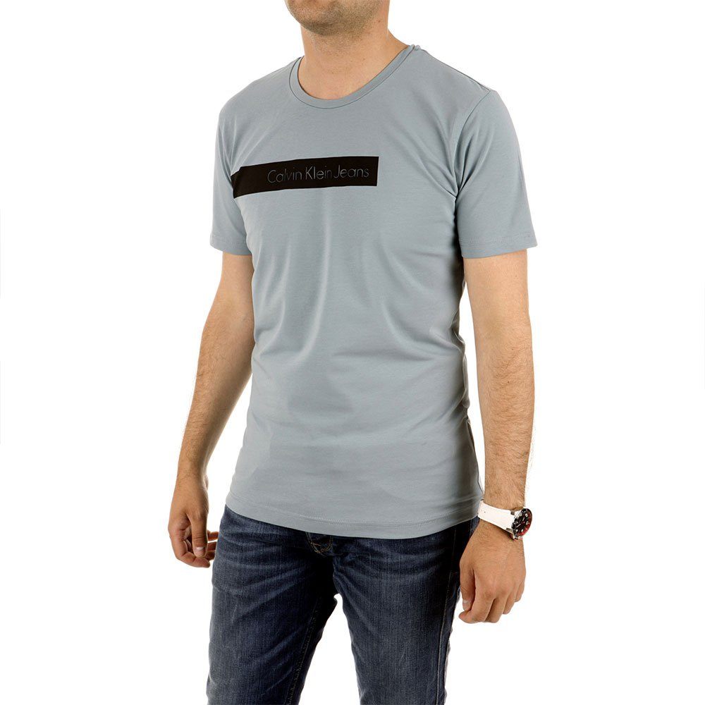 Calvin Klein T-shirt L Smoke / Blue