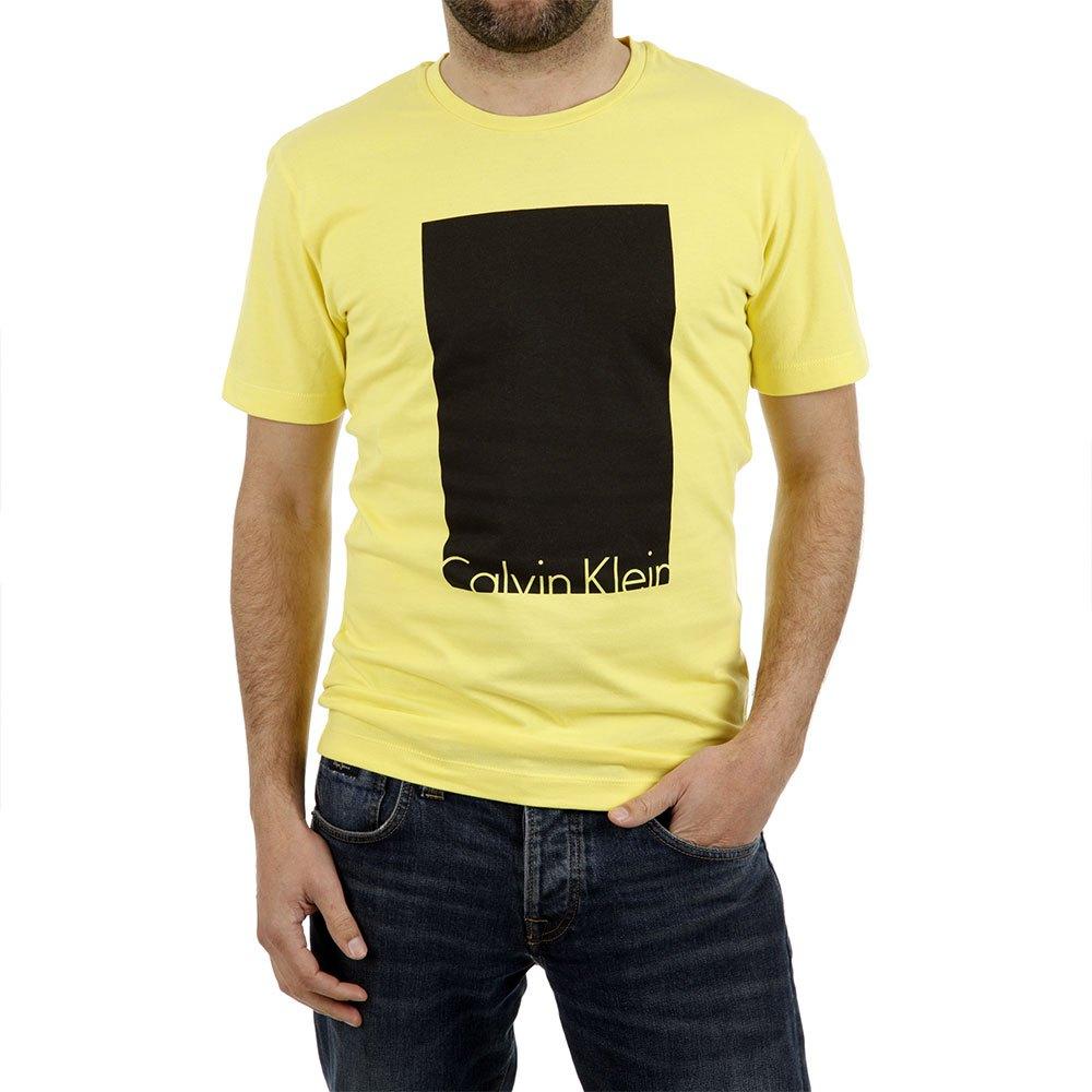 Calvin Klein T-shirt L Aurora / Yellow