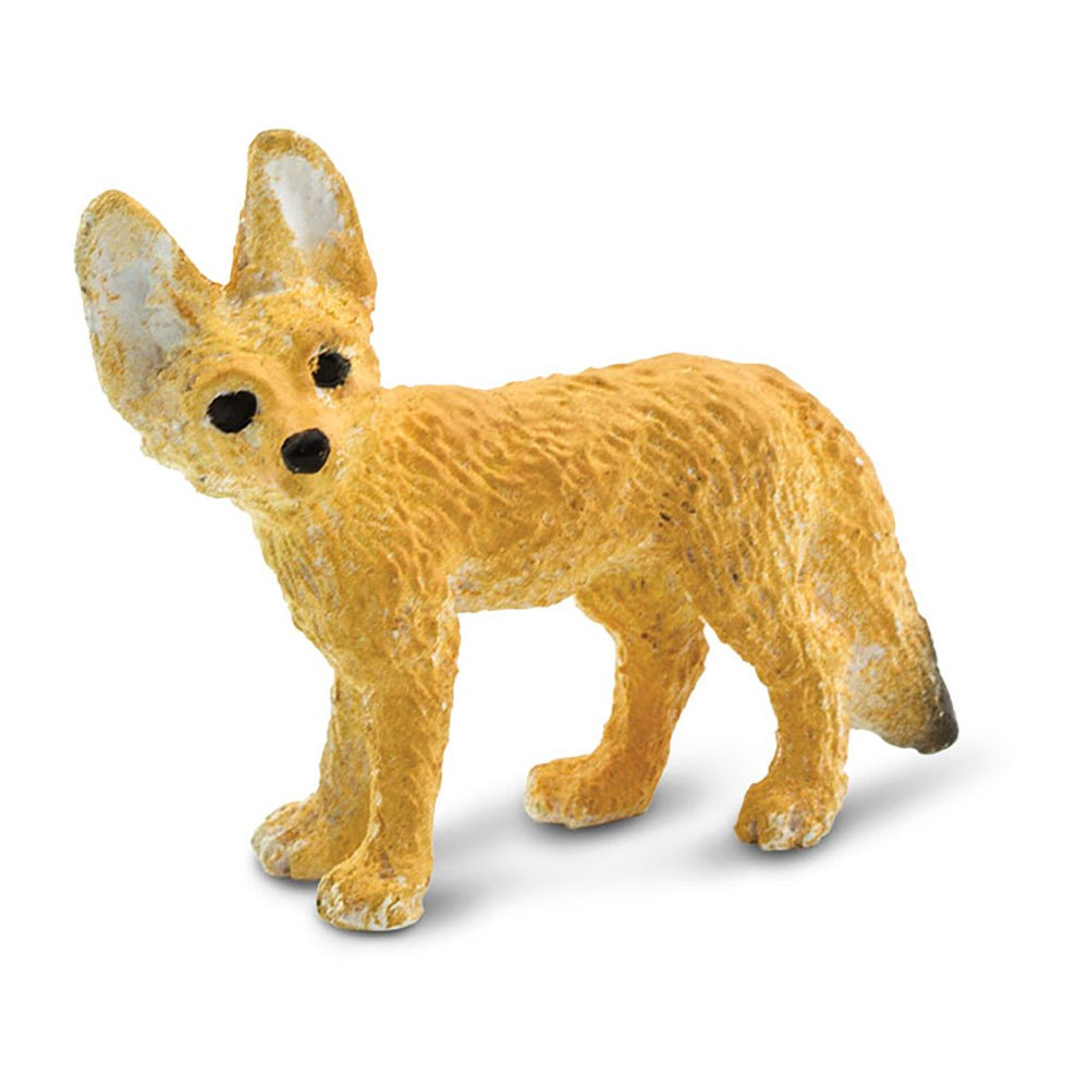 Safari Ltd Fennec Foxes Good Luck Minis From 3 Years Light Brown