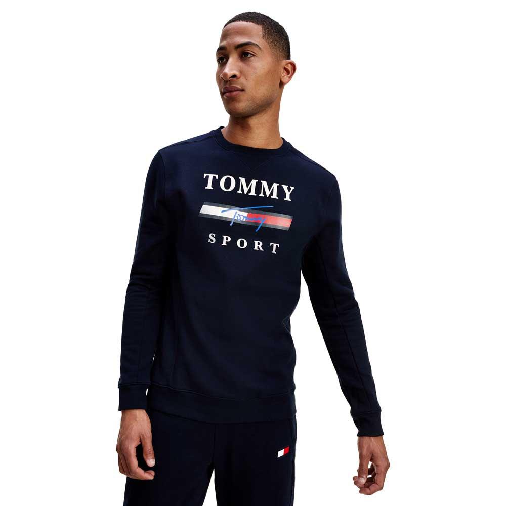 Tommy Hilfiger Sportswear Graphic Fleece Crew L Desert Sky