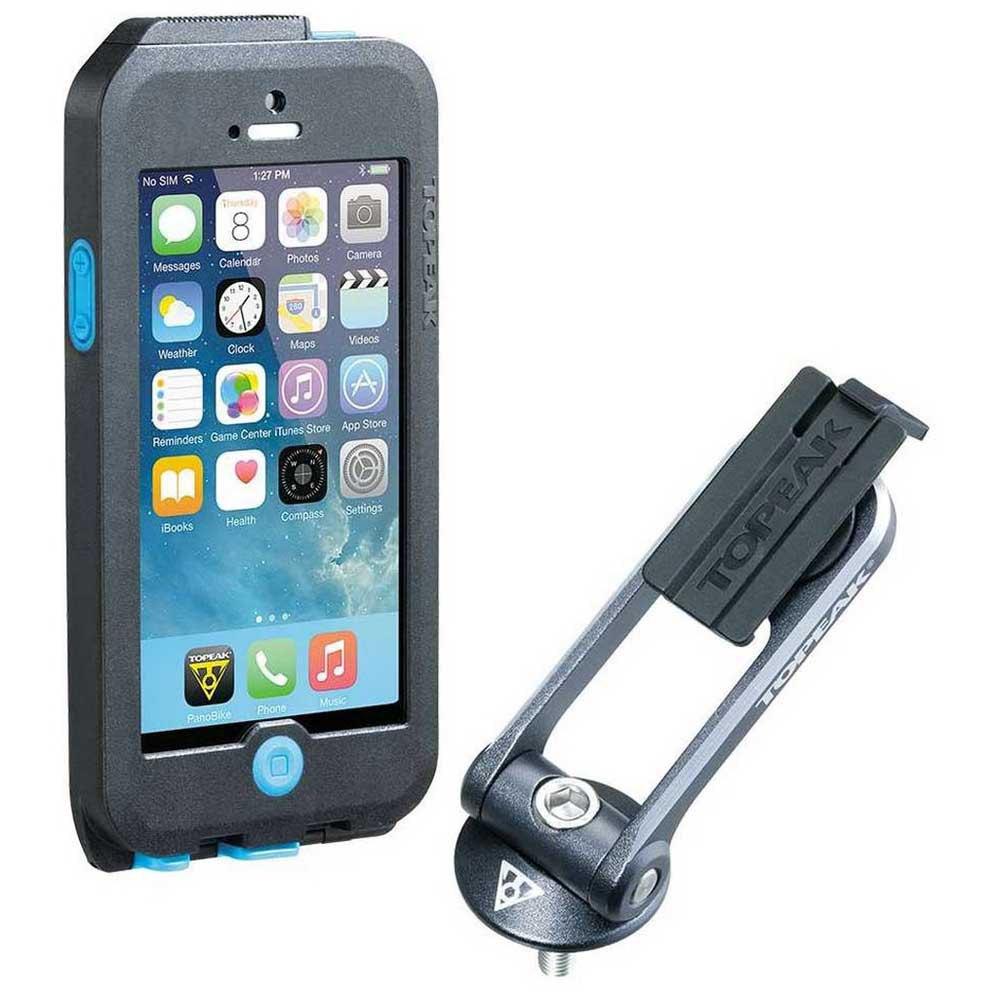 Topeak Waterproof Ridecase Iphone 5/5s/se One Size Black / Grey