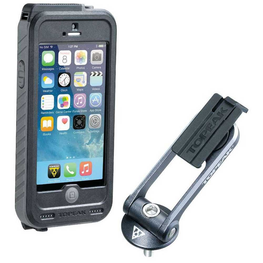 Topeak Waterproof Ridecase Iphone 5/5s/se With Battery 3150 Mah One Size Black / Grey