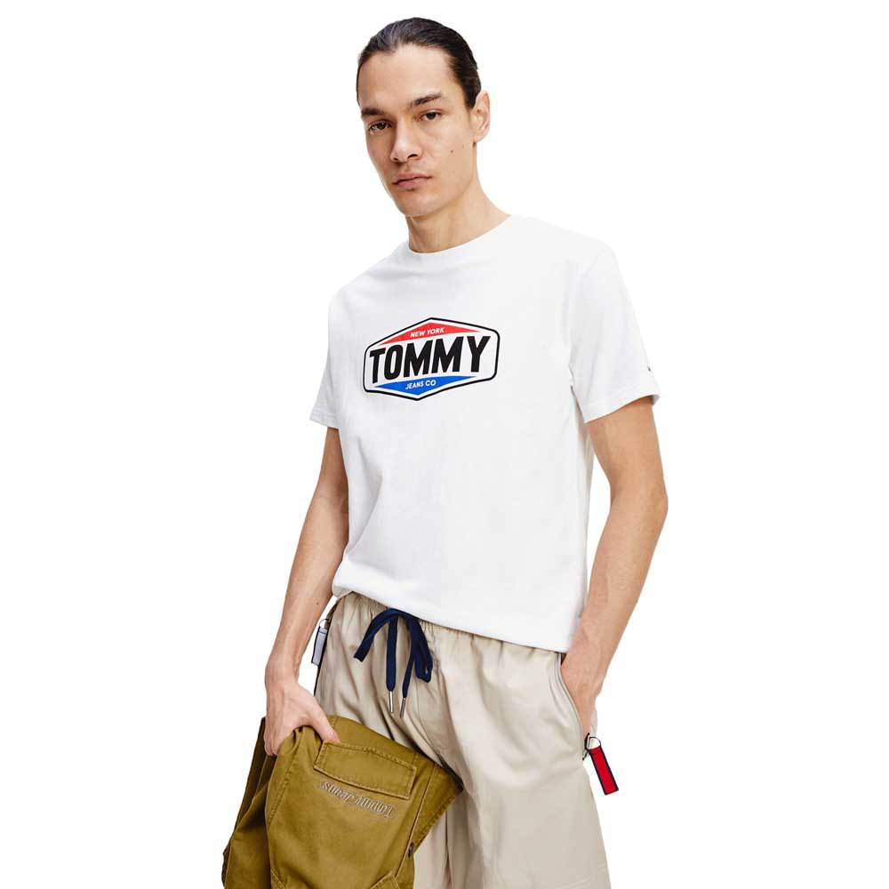 Tommy Jeans Printed Logo S White