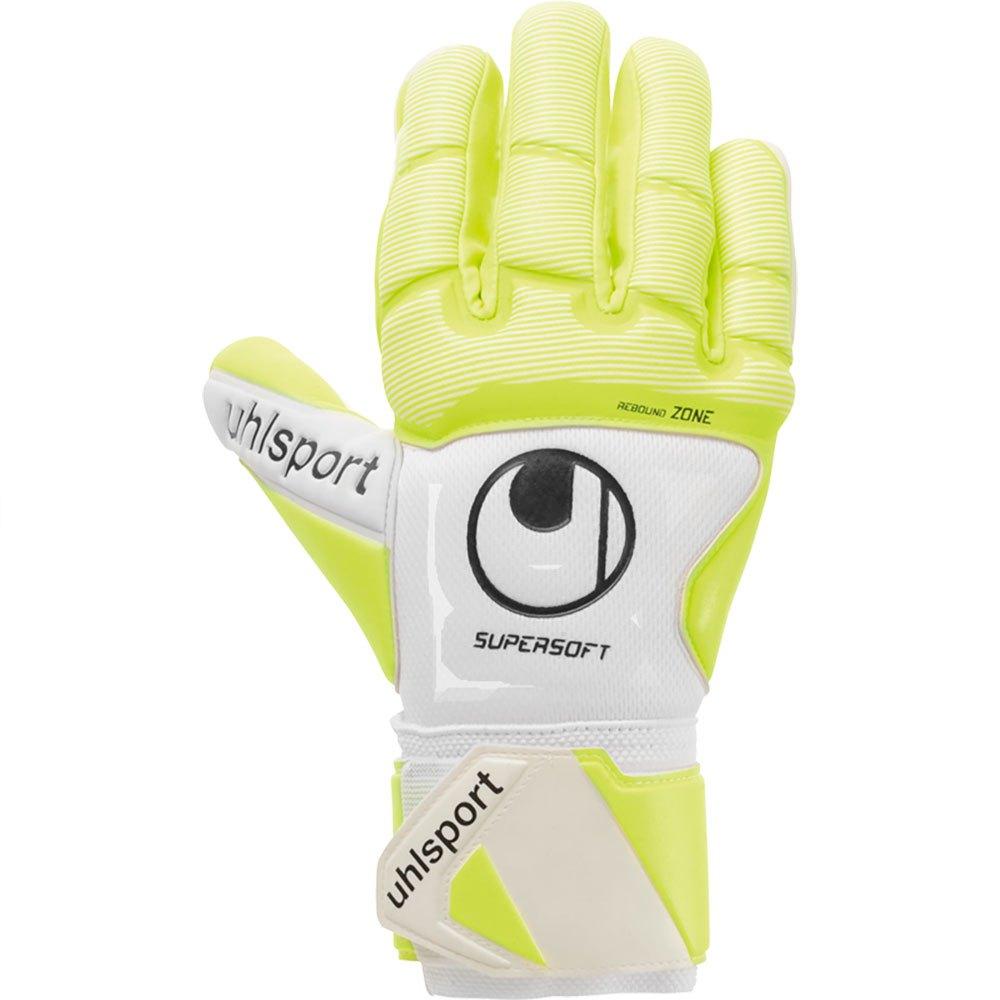 Uhlsport Gants Gardien Pure Alliance 6 White / Fluo Yellow / Black