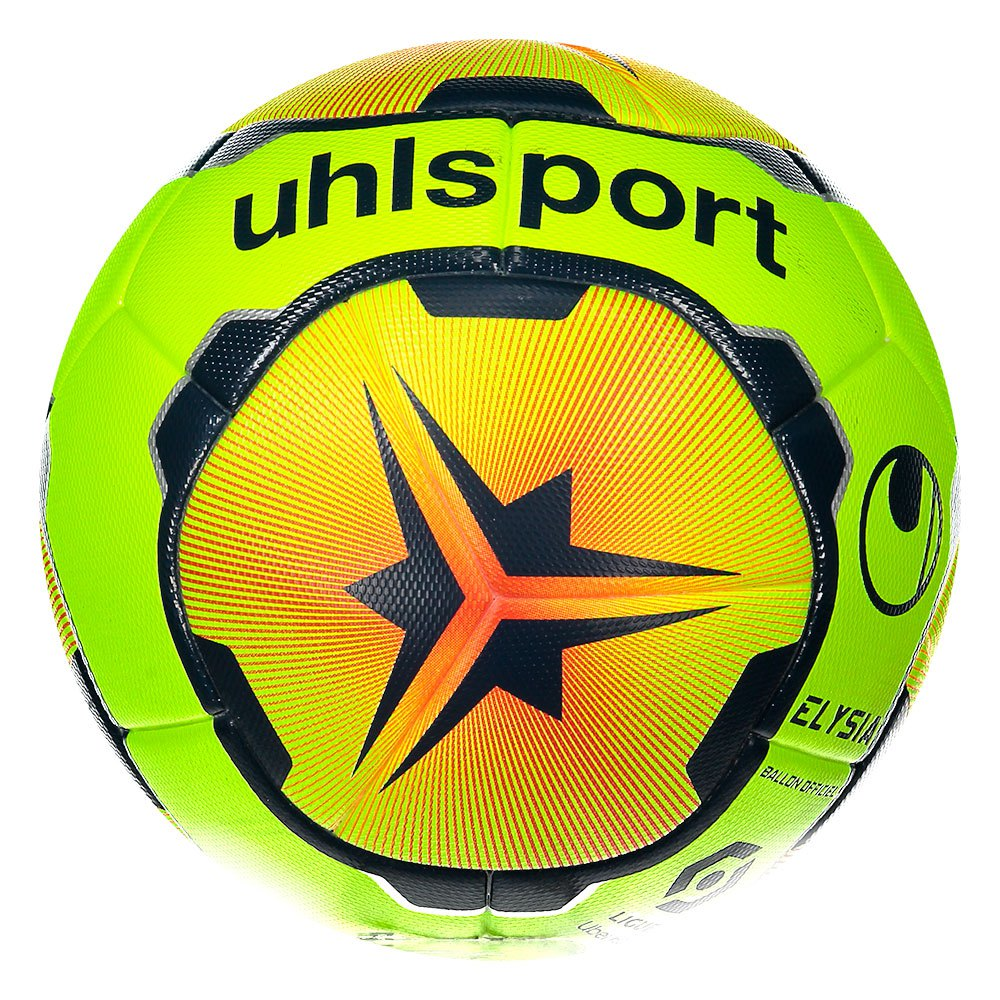 Uhlsport Elysia Officiel Sponsoring 5 Fluo Yellow / Fluo Red / Navy