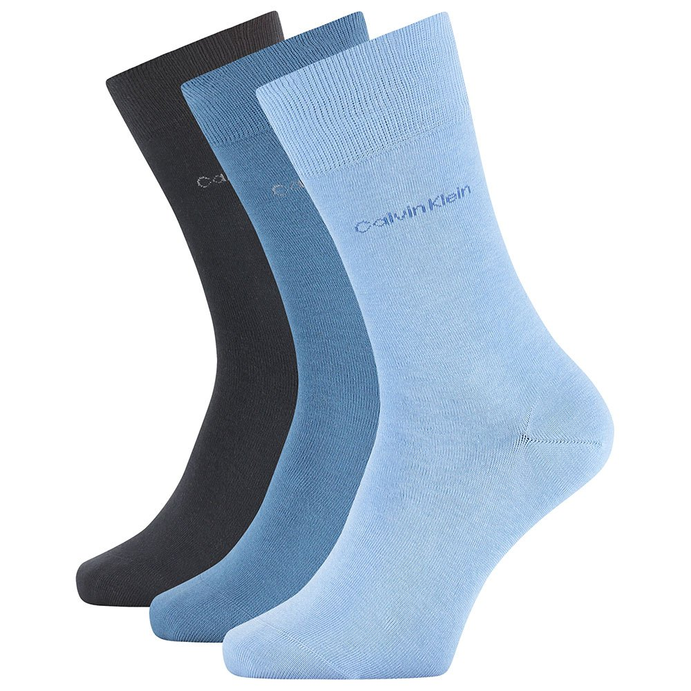 Calvin Klein Eric Crew 3 Pack One Size Blue Combo