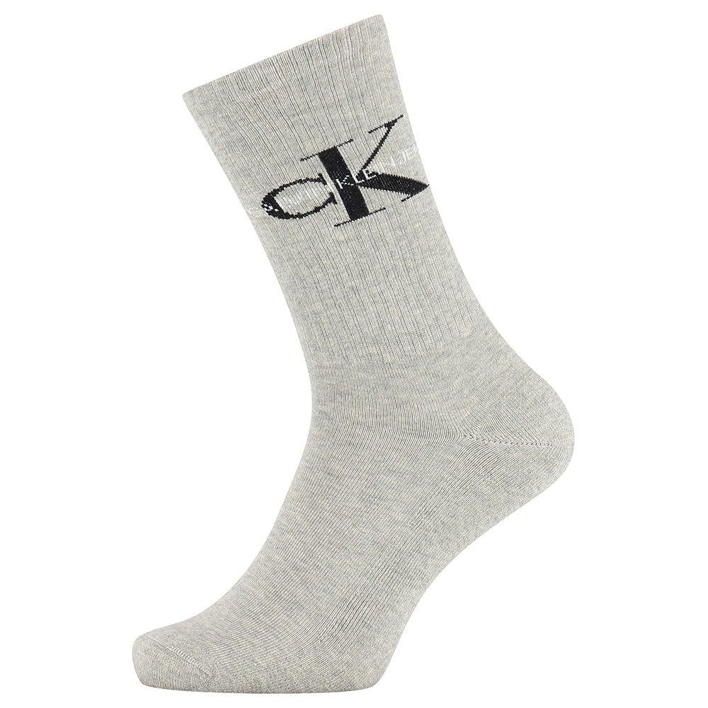 Calvin Klein Jeans Rib Desmond Crew One Size Light Grey Melange