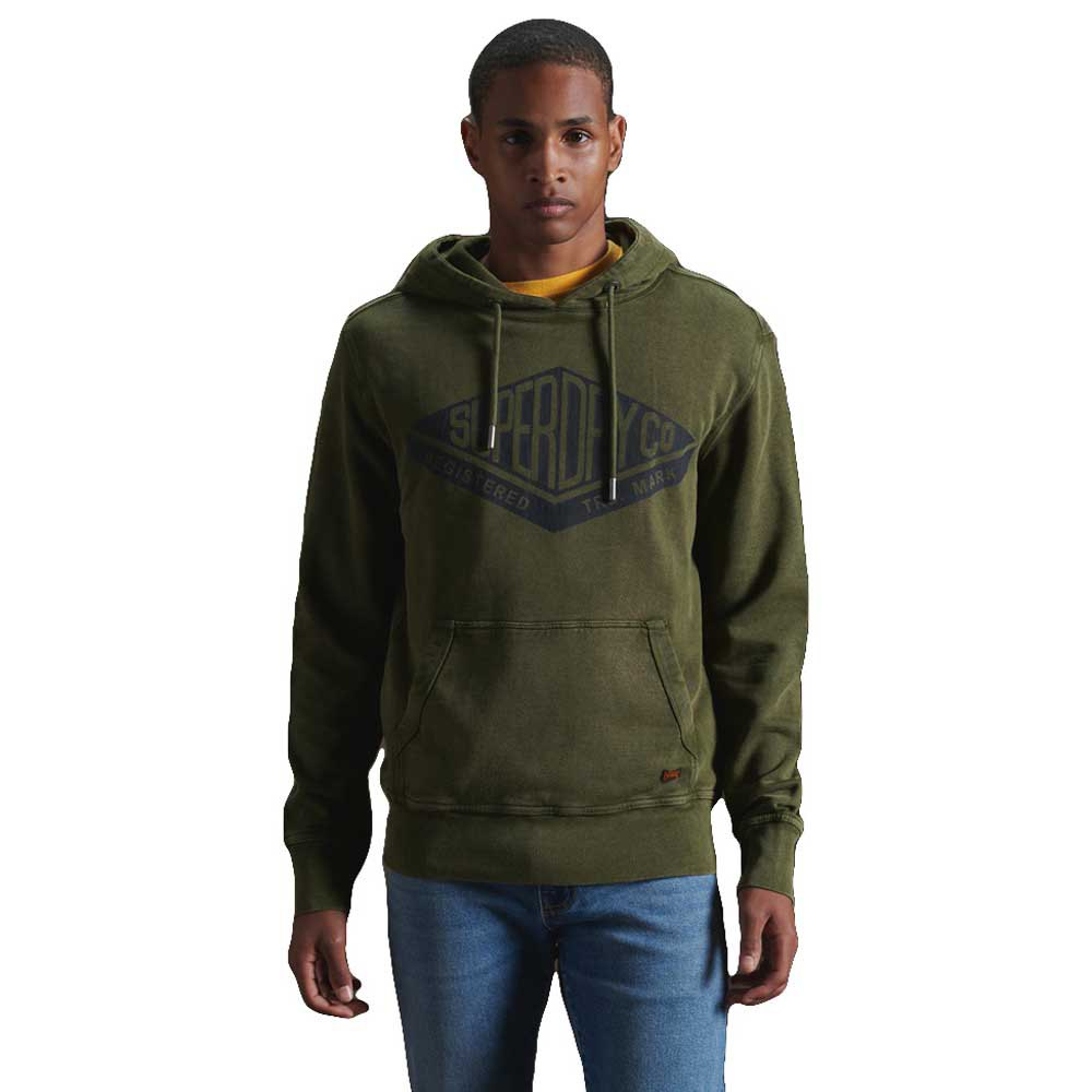 Superdry Copper Label M Drab Overall Green