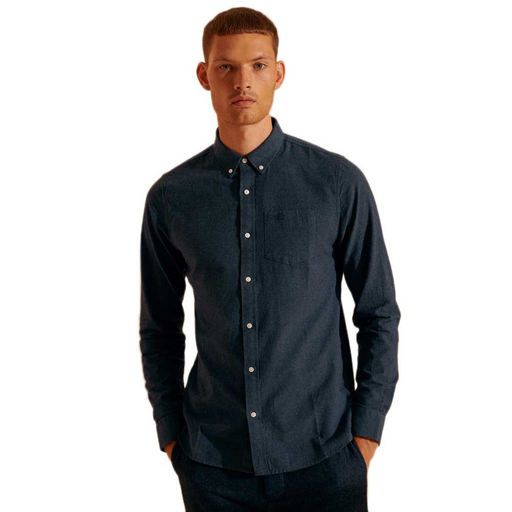 Superdry Classic University Oxford M Navy Marl