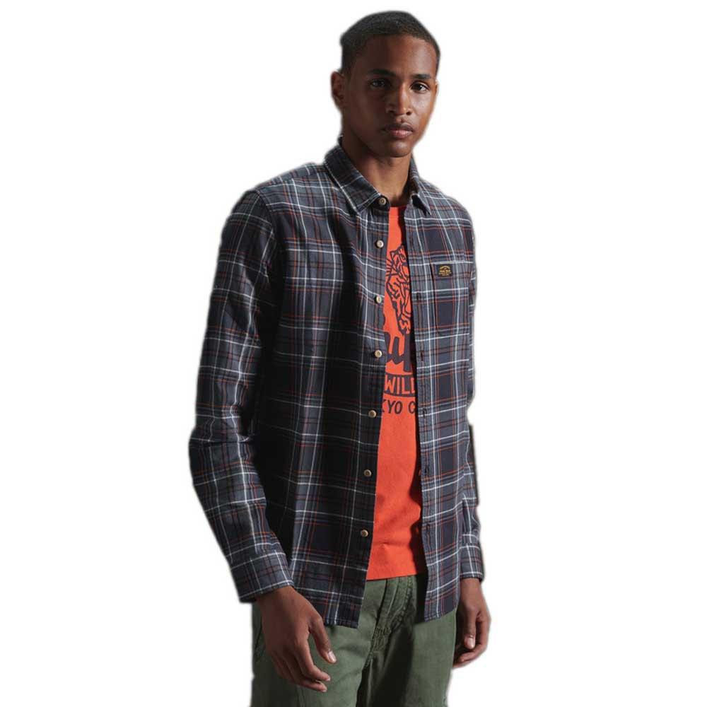 Superdry Workwear M Grey Check