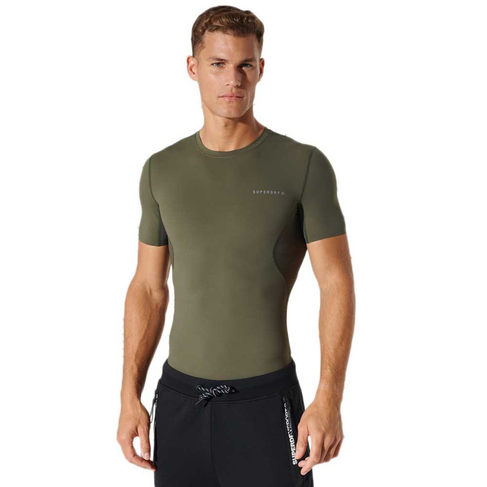 Superdry Ice Cool L Army Khaki