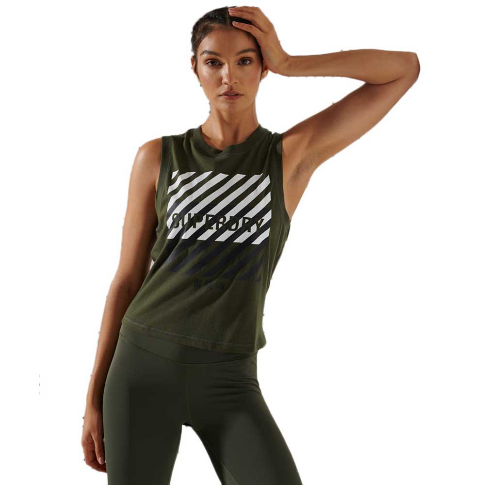 Superdry Core Graphic S Army Khaki