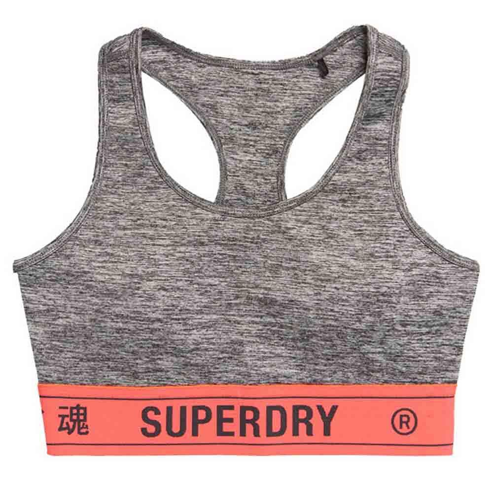Superdry Elastic L Grey Marl
