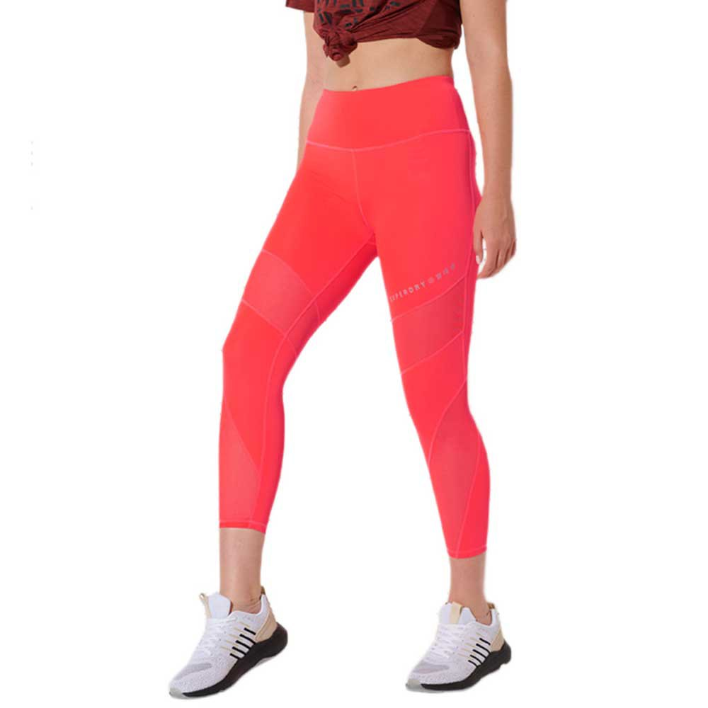 Superdry Mesh 7/8 S Neon Red
