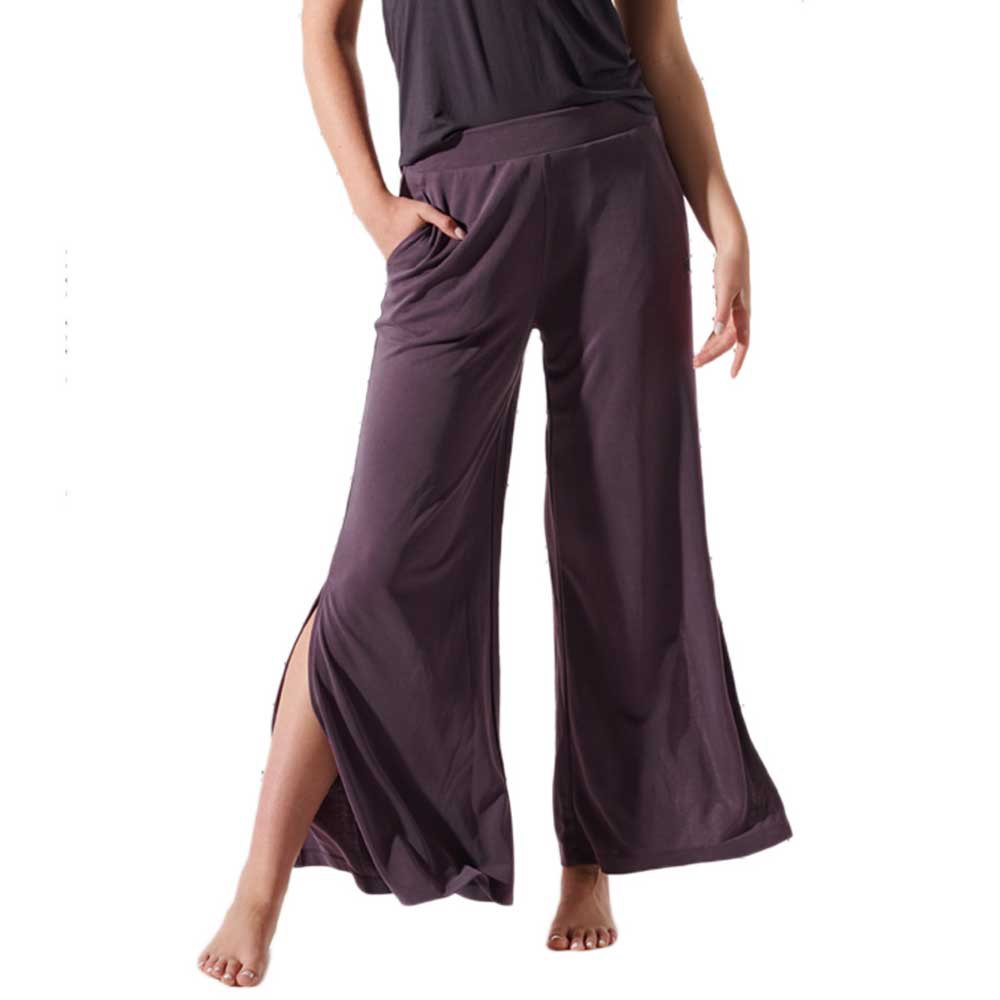 Superdry Flex Wide Leg S Mulled Plum