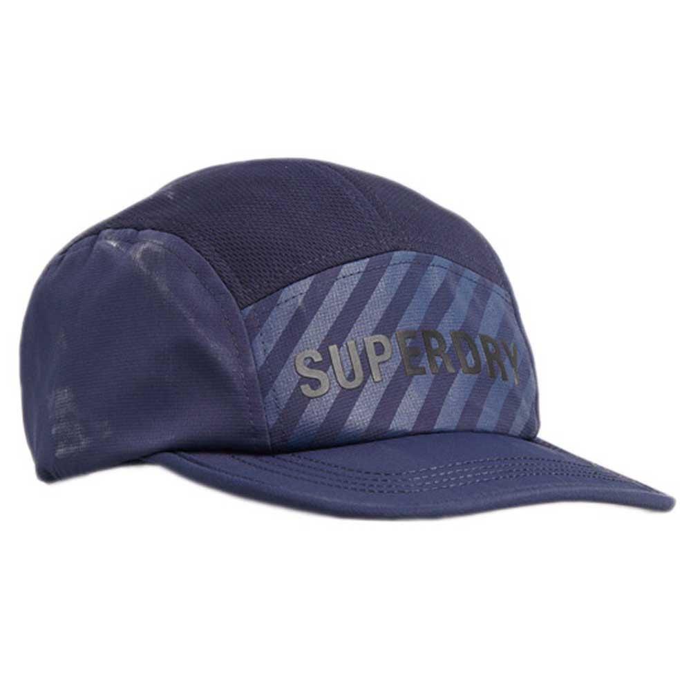 Superdry Run Cap One Size Zinc Blue