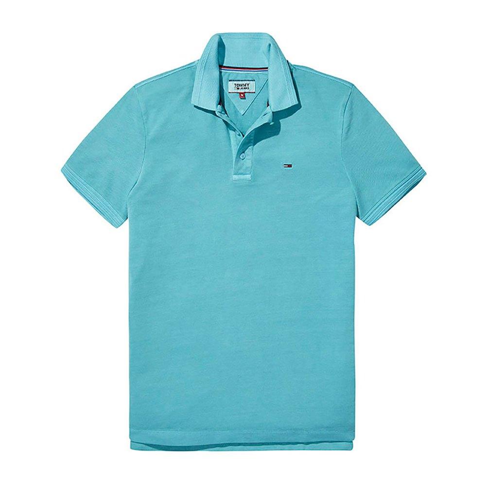 Tommy Hilfiger Polo Ss Basic S Maui Blue