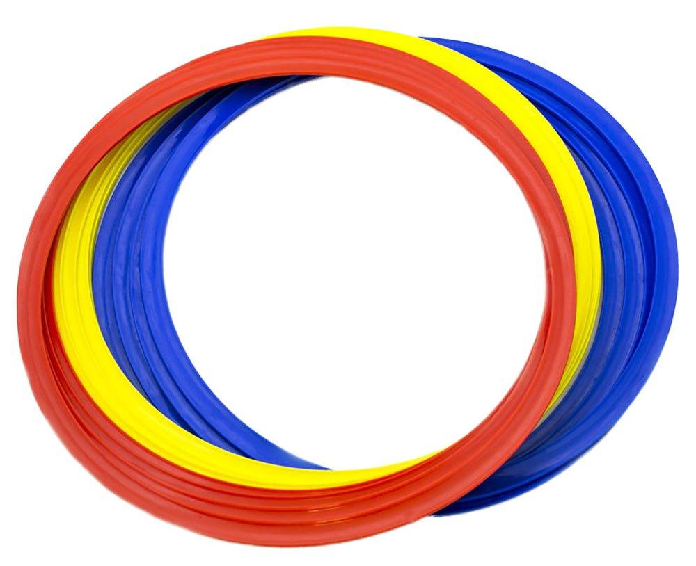 Powershot Anneaux Plat 12 Unités 45 cm Multicoloured