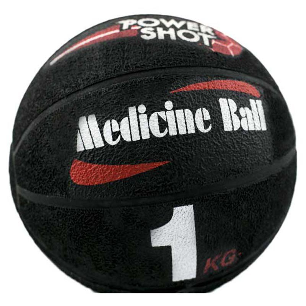 Powershot Medicine Ball 1kg 1 Kg Black